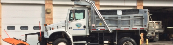 Department of Public Works Truck